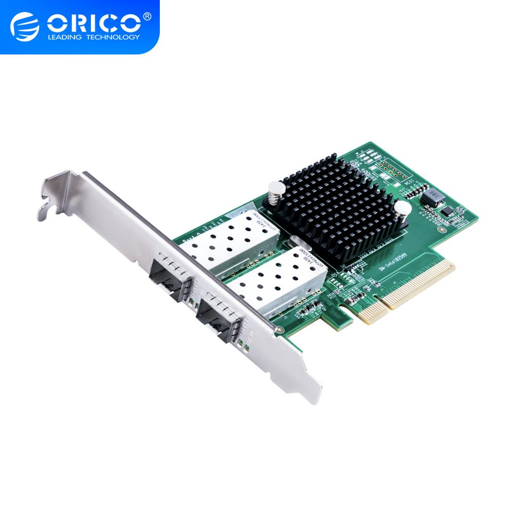 ORICO 2 puertos PCIE a 10 Gigabit adaptador de red para ordenador portátil soporte ordenador de escritorio