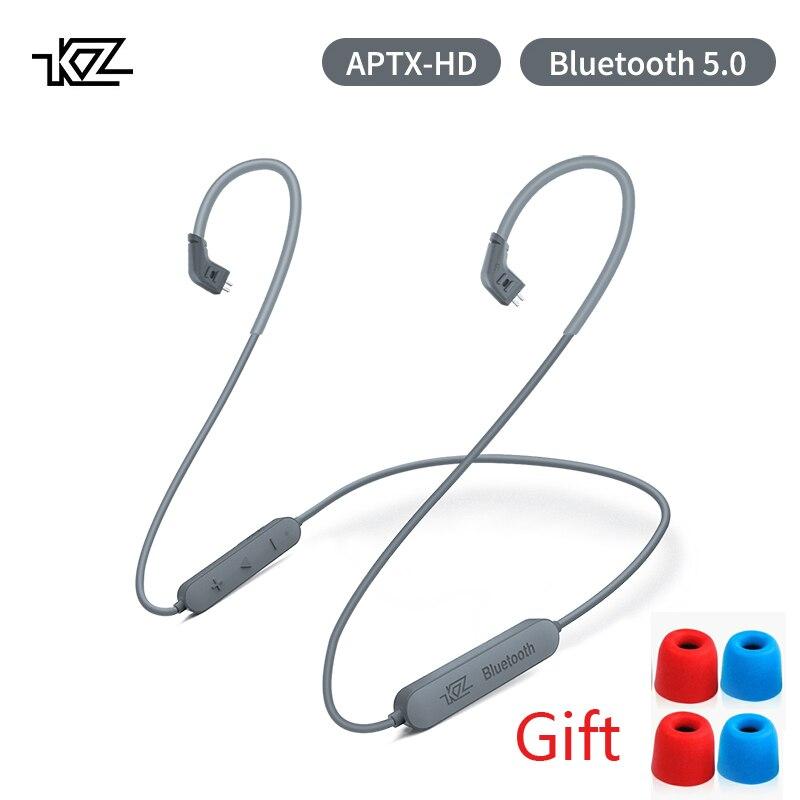 Fone de Ouvido Cabo de Atualização sem Fio Aptx Mmcx Módulo Bluetooth 5.0 se Aplica As10 – Zst Zsnpro Zs10pro As16 Zsx Ca16 vx kz hd Csr8675