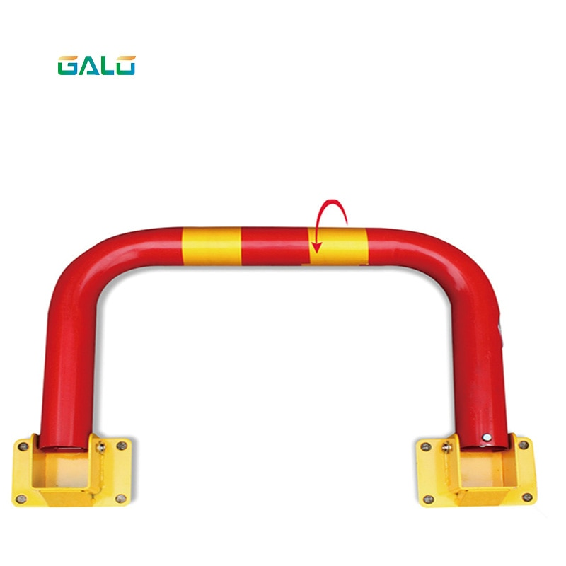 Half ring shape of the block machine parking barrier lock 80cm*35cm   Fast delivery parking barrier parking lock anti parking