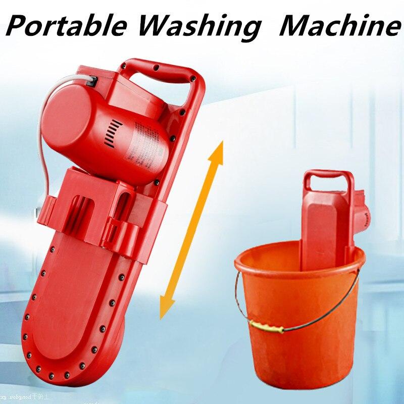 Máquina de Lavar Toda a Rotação Dispositivo de Limpeza Portátil Redonda Digital Cronometrando Mini Elétrico
