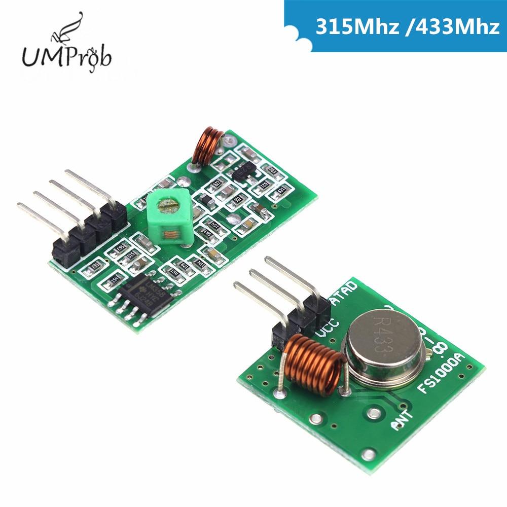 315 МГц/433 мгц радиочастотный передатчи�