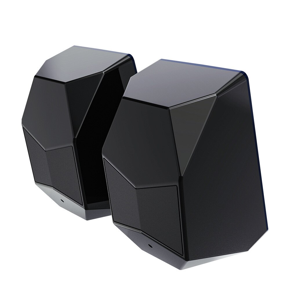 Popular Luminous Computer Speaker E-Sports Games Audio USB Interface Mobile Phone Computer Universal enlarge
