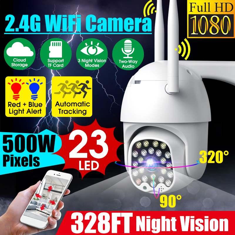 HD 1080P Outdoor Speed Dome Wasserdicht Wifi IP Kamera 500W Pixel Volle Farbe Nachtsicht PTZ Smart Home sicherheit Überwachung