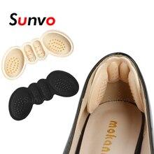 נשים רפידות נעלי כרית עקב גבוהה להתאים גודל דבק עקבים רפידות אוניית אוחז מגן מדבקת כאב הקלה רגל טיפול הכנס