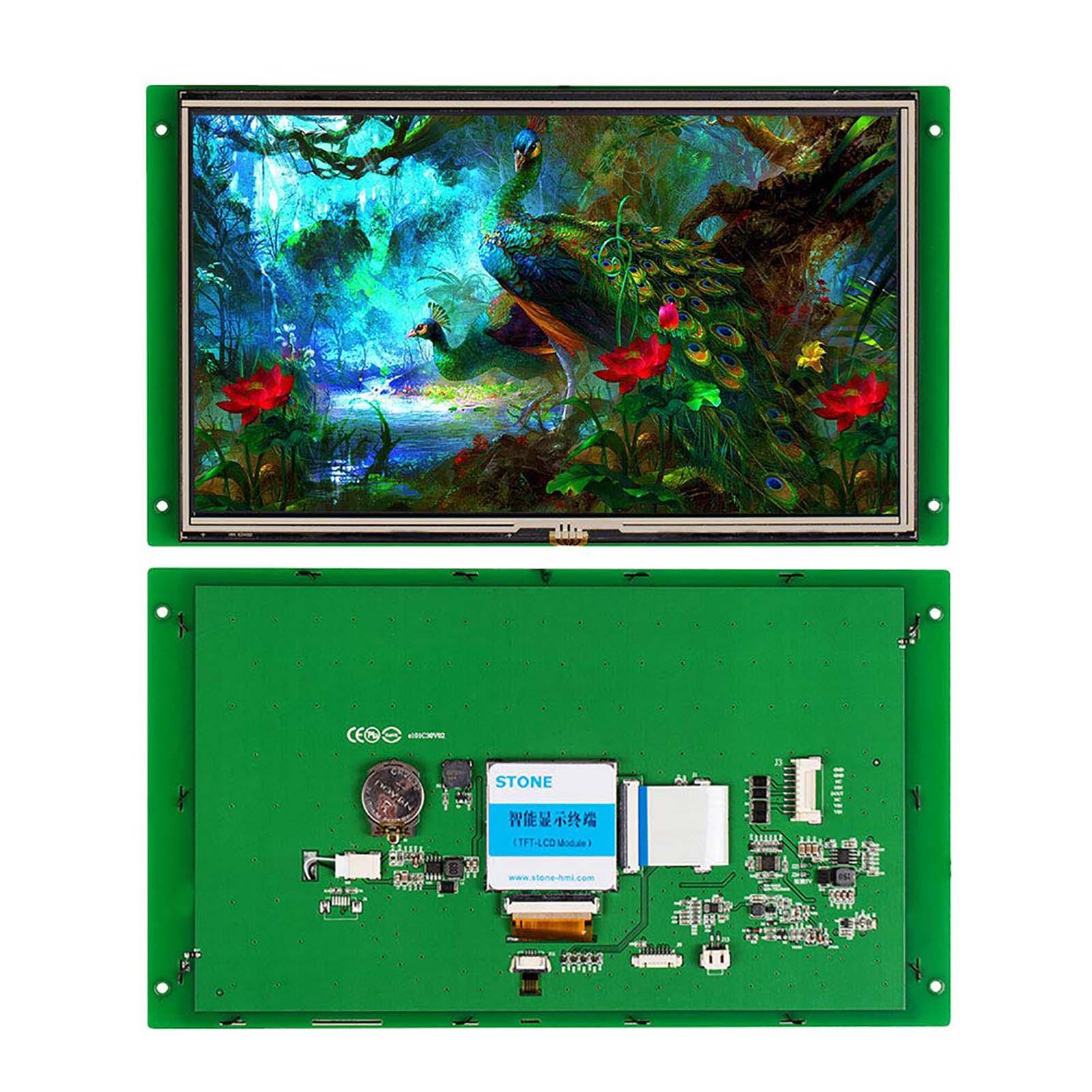 Промышленные интеллектуальные ЖК-модули TFT 10,1 дюйма + сенсорный экран + плата контроллера