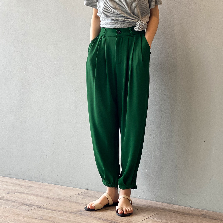 wide leg female summer loose women pants 9575#