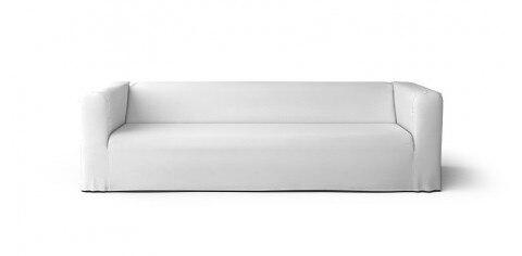 El Klippan Long Shirt 4 cubierta de asiento de sofá reemplazo para Klippan 4 asientos funda de sofá