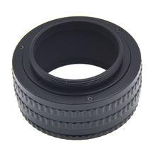 M42 à M42 monture lentille réglable mise au point hélicoïdal Macro Tube adaptateur 25-55mm
