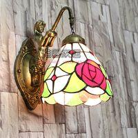 Vintage Glass Turkish Mosaic Lamps Handmade Bedroom Study Living Room Corridor Porch Aisle E14 Turkish Lamp on the Wall