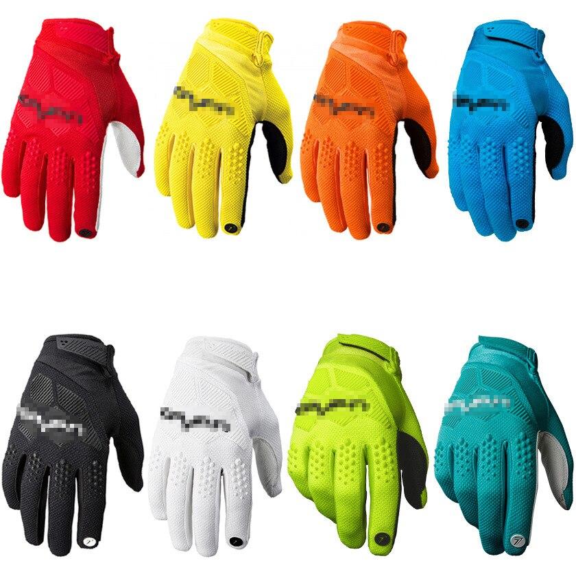 Rękawice rowerowe dla mężczyzn rękawice motocrossowe sportowe rękawice rowerowe Mesh antypoślizgowe rękawice golfowe z mikrofibry rękawice gimnastyczne z pełnym palcem