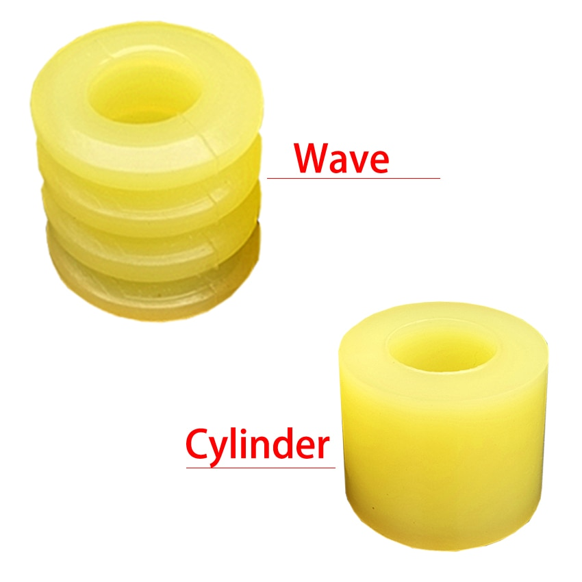 10*20*20 10x20x20 12*24*24 12x24x24 poliuretano PU Pin acoplamiento cilindro amortiguador manguito elástico Flexible buje