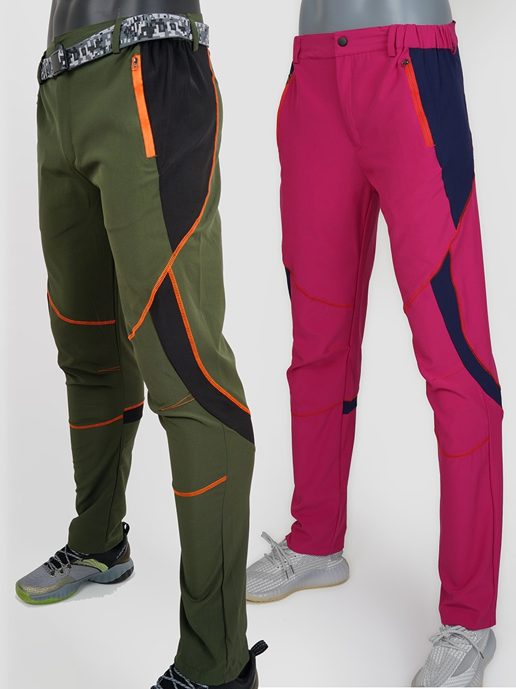 Men's Women's Sports Hiking Trekking Cargo Pants Climbing Outdoor Camping Military Tactical Pants Fi