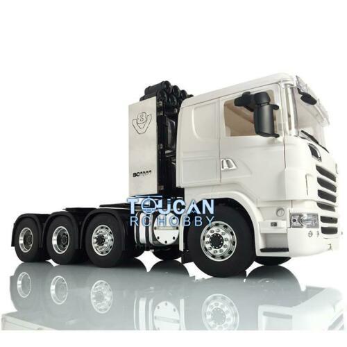 1/14 RC LESU 8*8 Metal Chassis Rack Hercules SCA R730 Cabin Tractor Truck