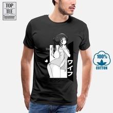 Waifu Lewd Senpai Hentai T-Shirt Newest 2019 MenS Fashion Print T-Shirt Men Summer Style Design T-Shirt