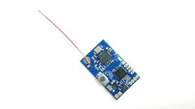 FUTABA SFHSS 8CH 2,4 Ghz RC Micro receptor con salida PPM PWM para Mini multirotores de carreras
