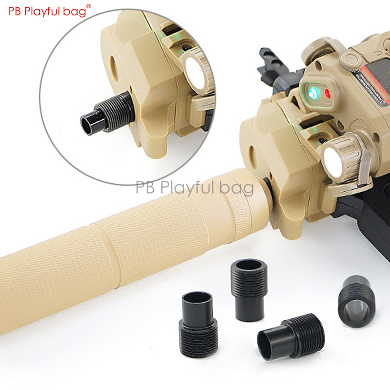 Bolso juguetón al aire libre Bingfeng MP7 especial 14 adaptador de diente inverso mejora material tapa adaptador agua bala juguete accesorio QE76