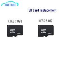 KESSV2 KESS V2 /KTAG SD Card Repair Solve  ECU Program Files Content Micro SD Card Replacement