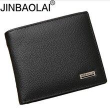 100% 정품 가죽 남성 지갑 프리미엄 제품 진짜 쇠가죽 채찍 지갑 짧은 검은 색 Walet Portefeuille Homme 짧은 지갑