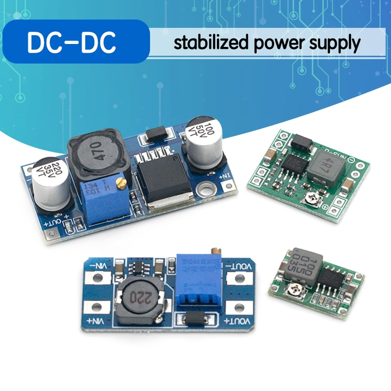 LM2596S-ADJ MT3608 MP1584EN DC-DC Voltage stabilized power supply module Adjustable boost& buck volt