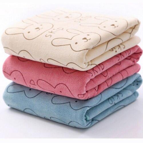 полотенца bebitof baby детское банное полотенце с уголком 75х75 Детское мягкое полотенце из микрофибры с кроликом для младенцев, банное полотенце, одежда для кормления, банное полотенце для новорожденны...