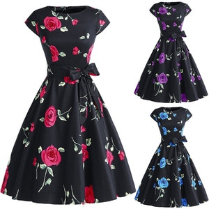 Bandage Dress Valentine's Day Women Dresses Clothes Woman Party Night 2021 Rose Red Vintage Floral Plus Size