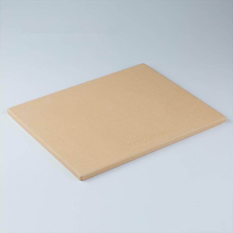 Accesorios de cerámica para hornear pizzas de gran tamaño, placa de Pizza de 24 , placa aislante de cerámica resistente al fuego, bandeja cuadrada para hornear