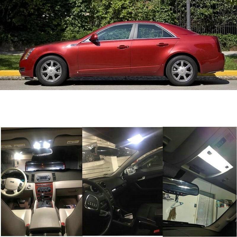 Interior luces Led para 2010 Cadillac CTS DTS Escalade SRX STS