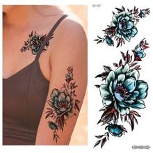 Temporäre Tattoos Body Art Sexy Wasserdichte Gefälschte Große Tattoo Aufkleber Beste Verkauf Rose Blume Totem Für Männer Frauen Cool Stuff china
