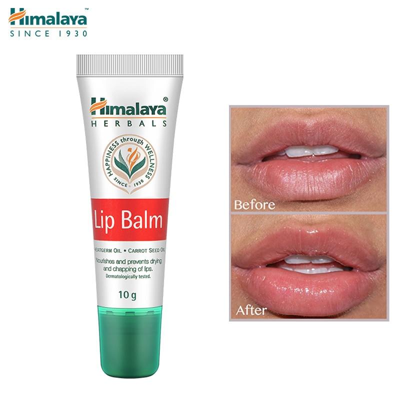 Himalaya Herbals Original Nutritivo Lip Balm lábios Secos e Evitar Rachaduras Máscara Cuidado Lábio Plumper Lábios Rosados 10 Óleo g