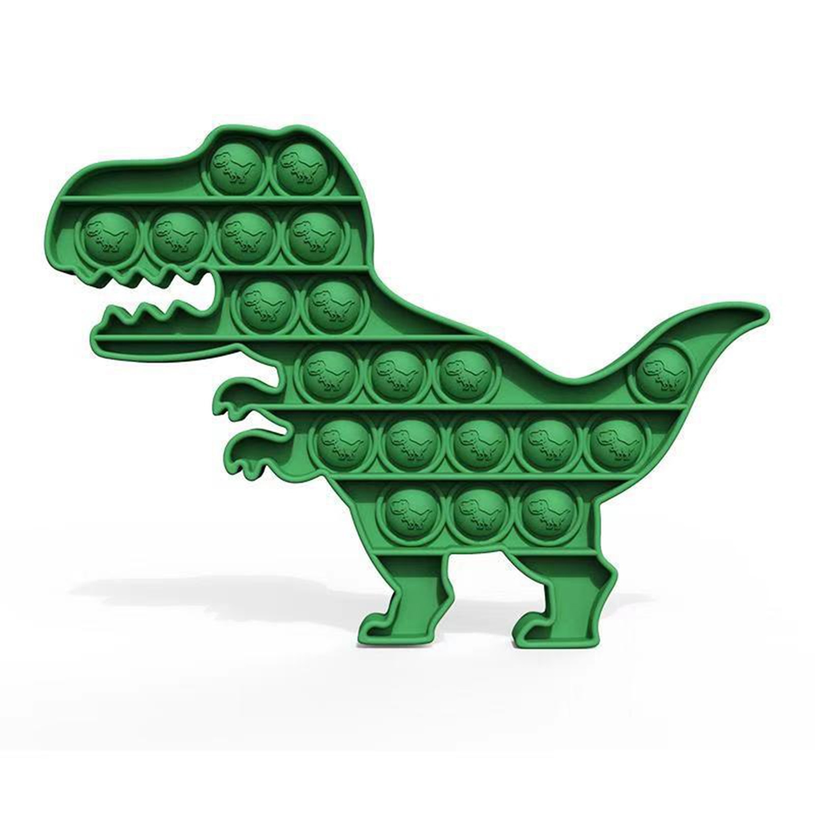 New Push Pop Bubble Fidget Antistress Toys Adult Kids Dinosaur Pop Fidget It Sensory Toy Autism Spec