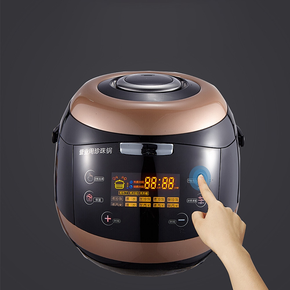 آلة طهي السكر ، 5 لتر ، لؤلؤة ، تجارية ، لمتجر شاي الحليب ، لؤلؤة أوتوماتيكية ، 110 فولت