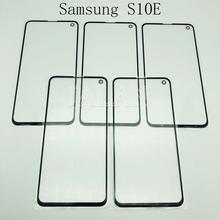 JALAN 5pcs vidro dianteiro + oca para Samsung Galaxy G970 s10E danificado reparação substituição de vidro