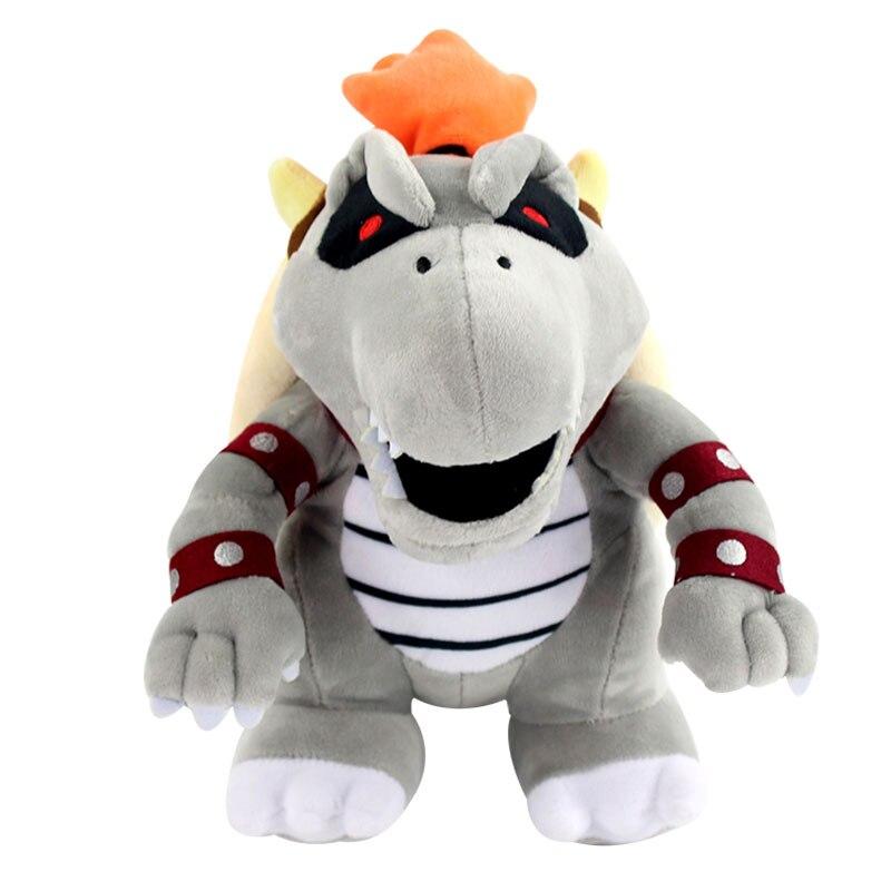 "10 ""25cm Luma huesos secos Bowser Koopa dibujos animados Kuba Dragon peluche suave regalos niños Luigi peluche muñeca Juguetes"