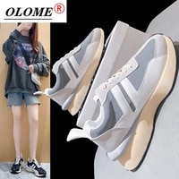 olome womens sports shoes four seasons running daddy shoes platform shoes fashion vulcanized shoes