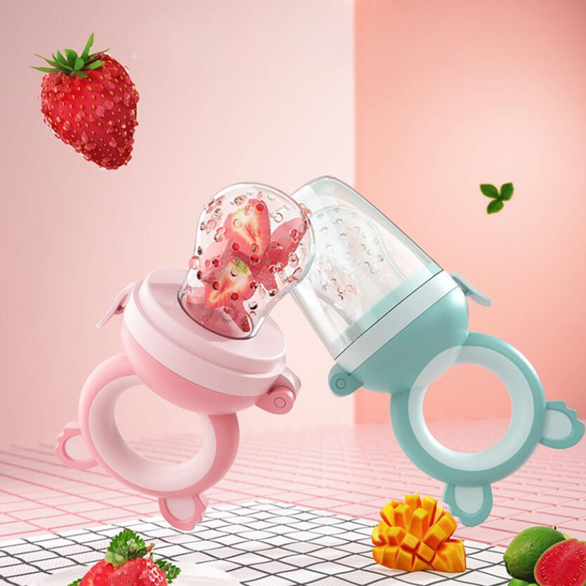Baby Infants Fresh Fruit Feeder Pacifier Nipple Kids Silicone Food Feeding Pacifier Tool For Children Eating Fruit Accessories