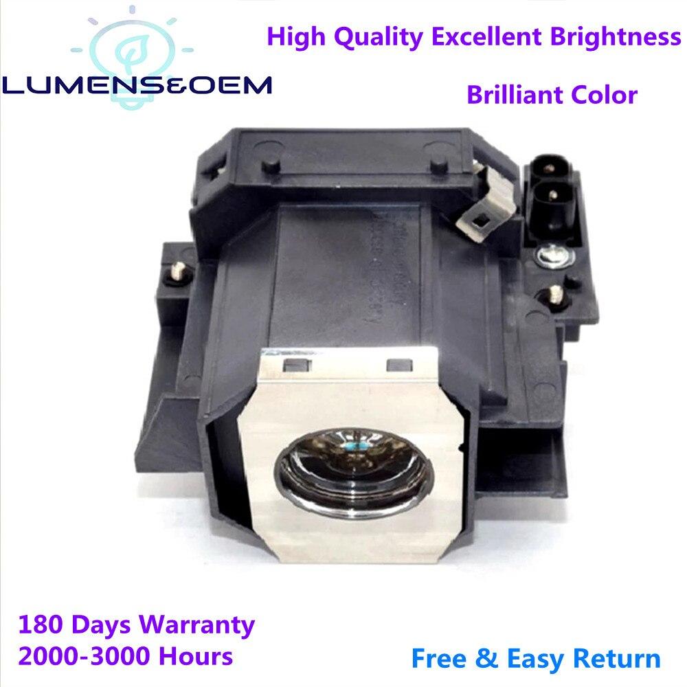 Люмен & OEM заменяемая прожекторная Лампа для проектора ELPLP35 /V13H010L35 для EMP-TW520 EMP-TW600 EMP-TW620 EMP-TW680 Powerlite PC 800