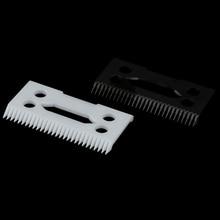 Magic Clip 2 Holes Hair Clipper Blade Cutter Electric Clipper Blades Ceramic Blades For Wahl Shear C