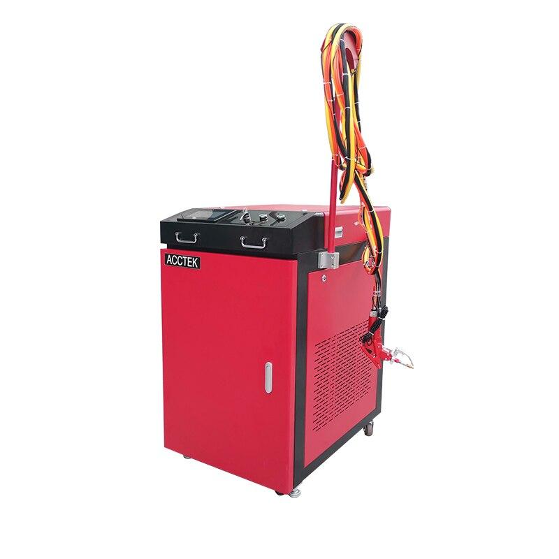 ماكينة تنظيف اللحام بالليزر المحمولة ، 1000 واط ، 1500 واط ، ماكينة لحام عالية الدقة من الفولاذ المقاوم للصدأ