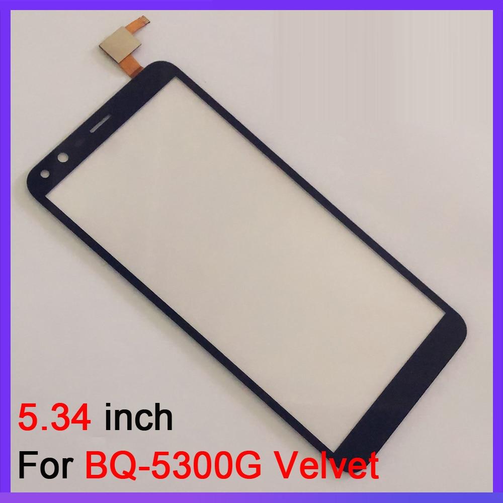 5.34 inch Touch Screen Glass For BQ BQ-5300G Velvet BQ 5300G Touch Screen Digitizer Glass Sensor Replacement enlarge