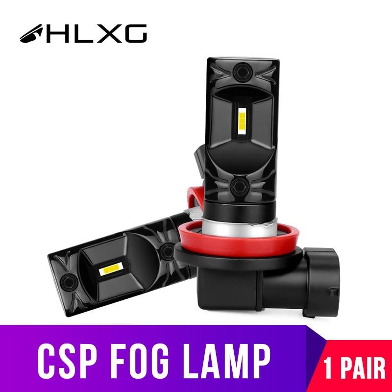 Автомобильные светодиодсветодиодный Противотуманные фары HB3 9005 HB4 9006 H8 H11 для Автомобильные дневные ходовые огни nebbia H16 PSX26W PSX24W H10 HIR2 светодиодный 12V 24V 1 пара