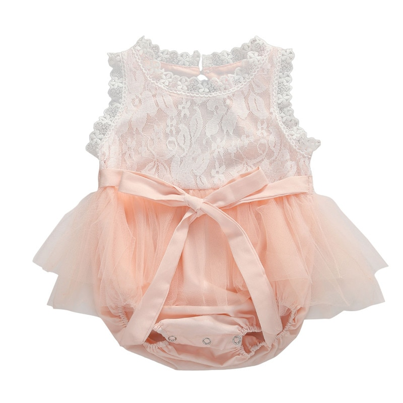 Newborn Infant Baby Girls Clothes Girls Rompers Lace Mesh Princess Backless Jumpsuit Romper Baby Girl Jumpsuit Sunsuit Outfits cotton newborn baby girl romper ruffle sleeve baby rompers winter baby girls clothes toddler girl romper infant jumpsuit p35