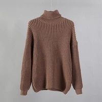 turtle neck sweater women 2020 new korean elegant solid cashmere soft oversized thick warm female pullovers tops
