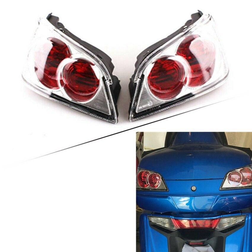 Lente de intermitentes de luz trasera para Honda Goldwing 1800 GL1800 Gold Wing 2001 - 2011 2002 2003 2004 2005 cubierta de lámpara trasera de motocicleta