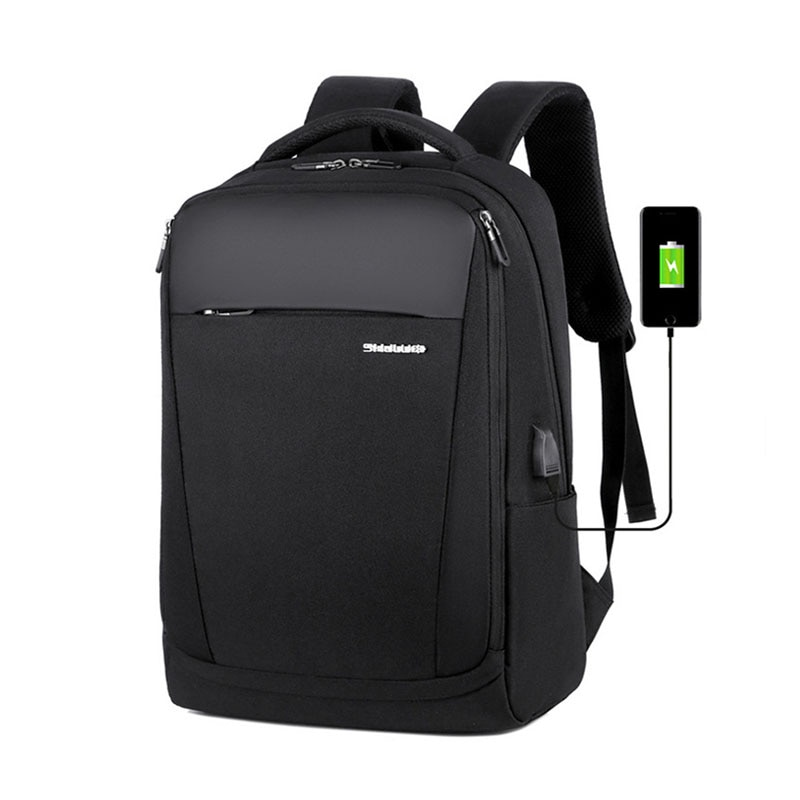 NANCY TINO Men's Business Backpack Travel Backpacks 15.6in Laptop Bag USB Large Capacity Multi Layer Storage Bags for Women