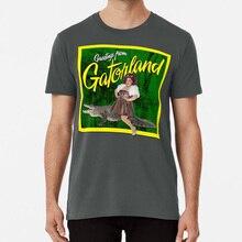 Salutations de Gatorland t-shirt gingembre Minj Gatorland glisser course reine Ru Paul Rupaul Gay
