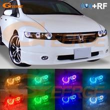 Pour HONDA ODYSSEY RB1 RB2 2003-2008 xénon phare RF télécommande Bluetooth APP multicolore Ultra lumineux rvb LED ange yeux kit