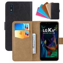 Luxury Wallet Case For LG K8 plus Brazil PU Leather Retro Flip Cover Magnetic Fashion Cases Strap
