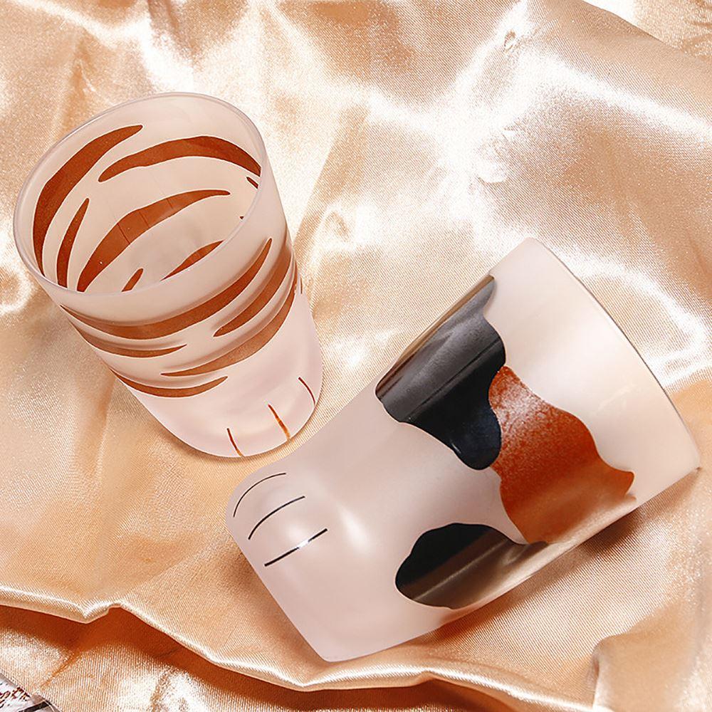200/300ml creativo Cute Cat Paws vidrio Tiger Paws taza Oficina vaso, taza de café personalidad desayuno leche porcelana taza regalo