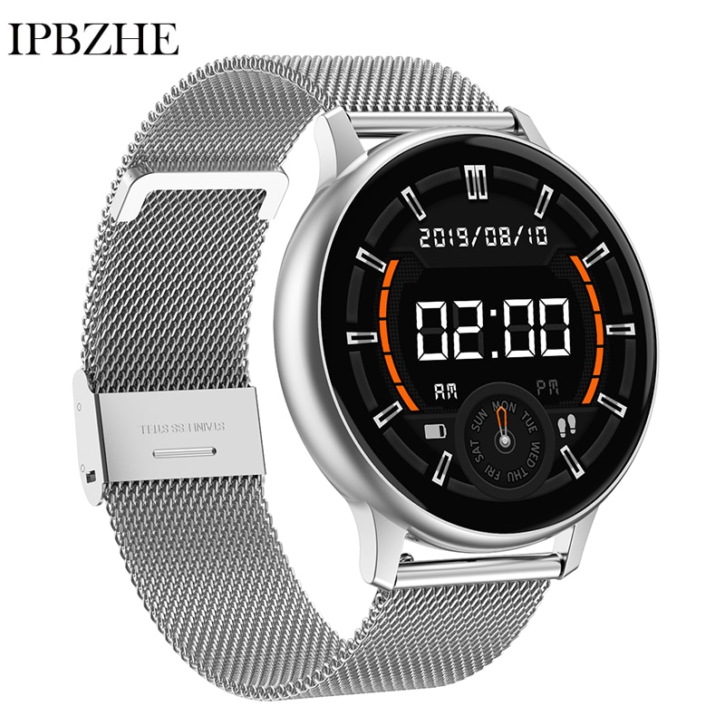 Смарт-часы Ipbzhe для мужчин и женщин, музыкальные спортивные Смарт-часы с функцией измерения кровяного давления, кислорода, пульса, давления, ...