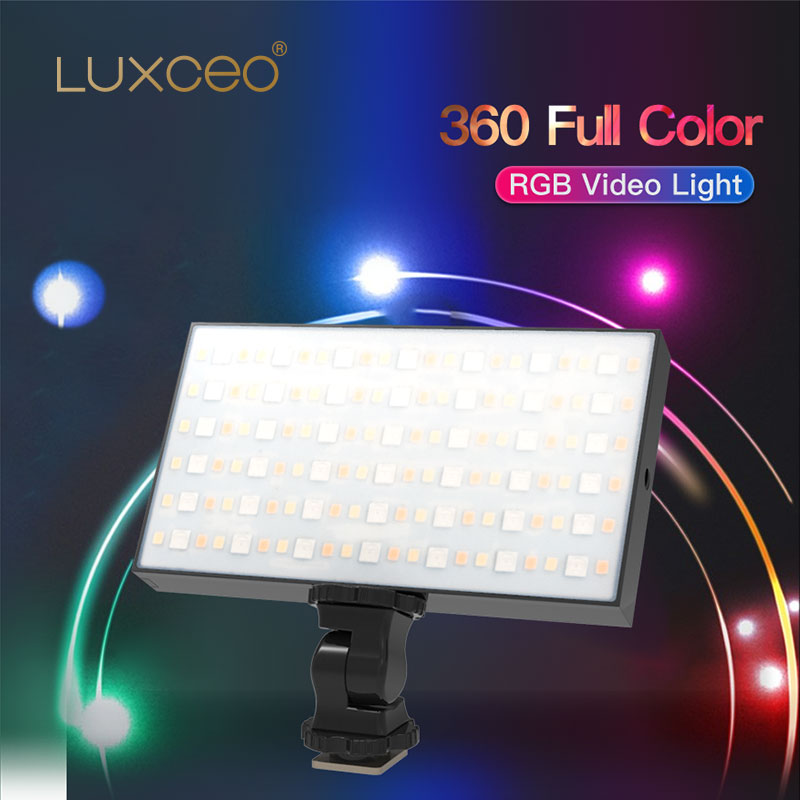 Pocket RGB Video Light Muti Mode LED Video Light 7W 600lm 3100mAH/7.6V USB Rechargeable Portable Video LED Light for Photography enlarge